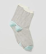 LOFT Skinny Stripe Crew Socks