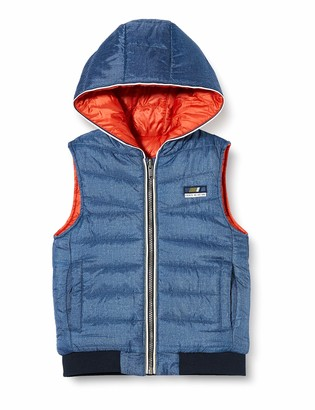 IKKS Junior Girl's Doudoune Sans Manche Reversible Jacket