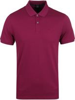 Boss Pallas Fuschia Pima Cotton Short Sleeve Polo Shirt
