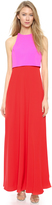Jill Stuart Jill Two Tone Gown