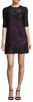 Dolce & Gabbana Mesh Lace Mini Dress