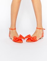 Asos LAVA Pointed Ballet Flats