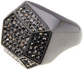 Ariella Collection Geometric Pave Ring