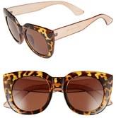 A. J. Morgan Women's A.j. Morgan 'Beam' 50Mm Sunglasses - Black