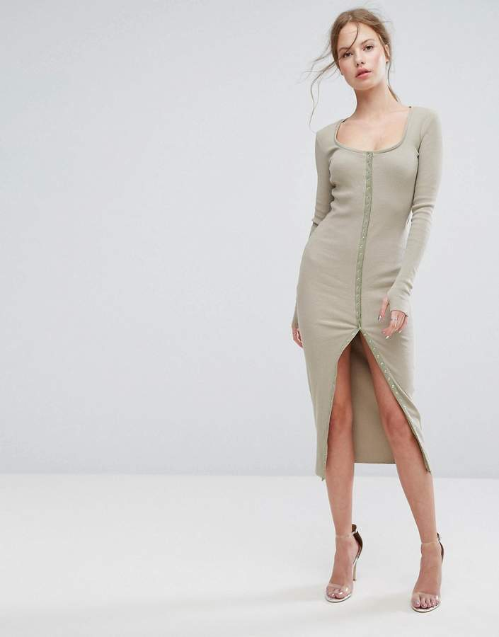 Asilio Without Pitty Button Down Dress