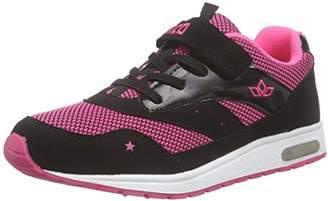 Lico Girls' Cool VS Low-Top Sneakers, Pink (Pink/Schwarz)