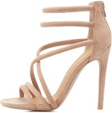 Charlotte Russe Qupid Tubular Dress Sandals