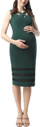 Kimi + Kai Maternity Valerie Criss Cross Dress