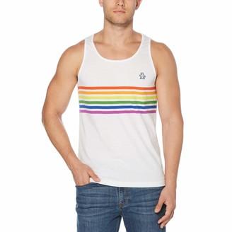 Original Penguin Pride Rainbow Stripe Tank
