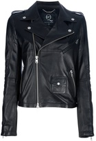McQ by Alexander McQueen leather jacket