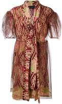 Simone Rocha floral print tulle dress