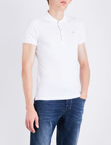 Diesel T-kalars cotton-piqué polo shirt