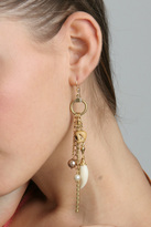 Made Her Think Single Charm Hook Earring