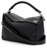 Loewe 'Puzzle' Leather Bag - Black