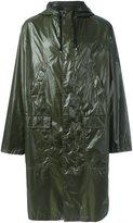 MSGM logo raincoat