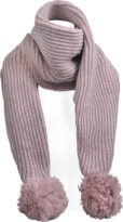 Acne Studios Sia S wool scarf with pompon