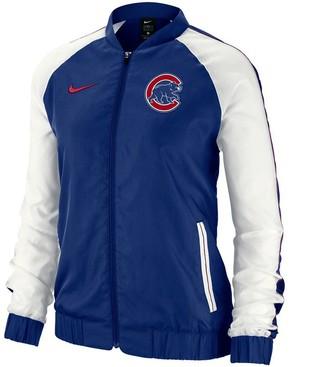 Nike Women's Royal Chicago Cubs Varsity Full-Zip Jacket