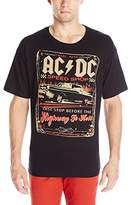 Liquid Blue Men's Ac/Dc Speedshop Short Sleeve T-Shirt