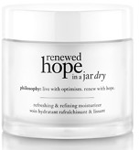 philosophy renewed hope in a jar dry skin 60ml