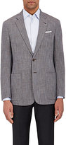 "Giorgio Armani Men's ""Soft"" Step-Weave Two-Button Sportcoat"