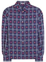 Miu Miu Floral-printed Cotton Shirt