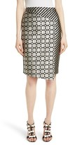 Ted Baker Women's Pensa Mix Print Pencil Skirt