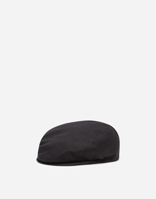 Dolce & Gabbana Stretch Cotton Flat Cap