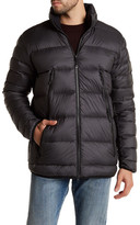 New Balance Quilted Puffer Hooded Jacket
