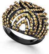 Thalia Sodi Jet-Tone Pave Dome Ring, Created for Macy's