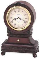 Bulova Rhapsody Knollwood Mantel Chime Clock in Walnut