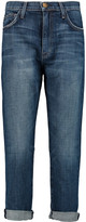 Current/Elliott The Slouchy mid-rise straight-leg jeans