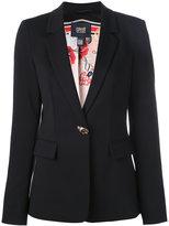 Class Roberto Cavalli flap pockets blazer - women - Polyester/Spandex/Elastane/Acetate/Polyimide - 42