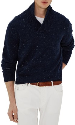 Brunello Cucinelli Donegal Cashmere & Wool Sweater