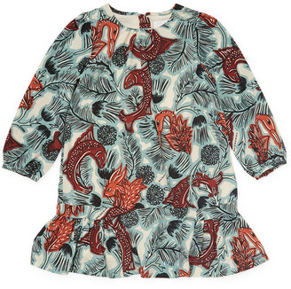 Burberry Crewneck Wild Dress