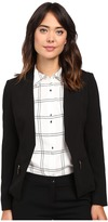 Ivanka Trump Open Crepe Jacket