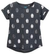 C&C California Foil Print Tee (Big Girls)