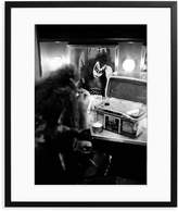 Sonic Editions Gene Simmons of Kiss Backstage (Framed)