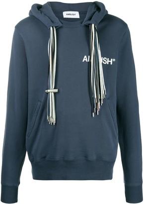 Ambush multiple drawstring hoodie