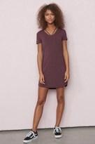 Garage V-Neck Strappy T-Shirt Dress