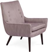 Jonathan Adler Mrs. Godfrey Chair in Biarritz Amethyst