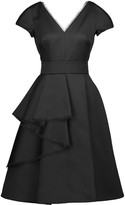 Jason Wu Ruffled cotton-blend and silk-satin dress