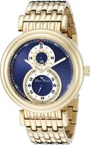 Lucien Piccard Men's LP-10618-YG-33 Polaris Gold-Tone Ion-Plated Stainless Steel Watch