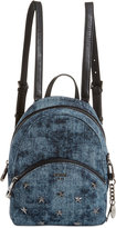 GUESS Bradyn Denim Backpack