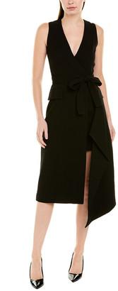 Alexis Wool Wrap Dress