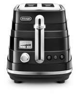 De'Longhi Delonghi CTA2003BK Avvolta 2 Slice Toaster Black