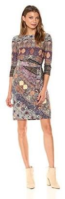 Chetta B Women's 3/4 Printed Dress