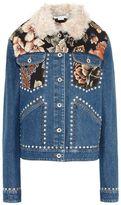 Stella McCartney denim tapestry jacket