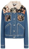 Stella McCartney denim tapesty jacket