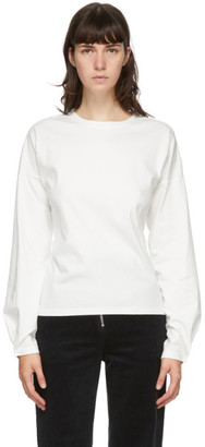 ANDERSSON BELL White Hook Micah Long Sleeve T-Shirt