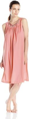 Shadowline Women's Petals 40 Inch Sleeveless Waltz Gown